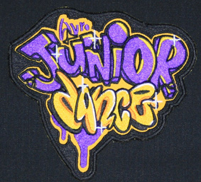 logo borduren avro junior dance