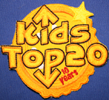 kids top 20 badge